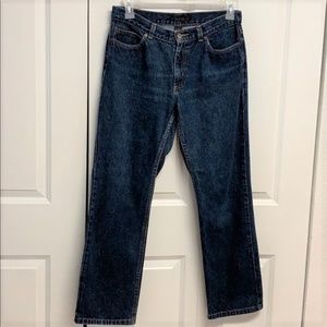 The Limited Blue Jeans Size 10 Straight Leg